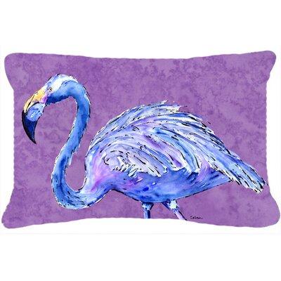 Flamingo Purple Indoor/Outdoor Throw Pillow