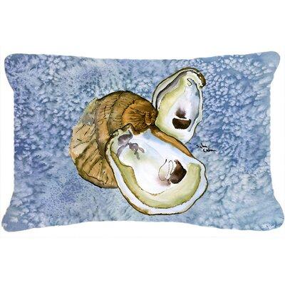 Oyster Indoor/Outdoor Throw Pillow