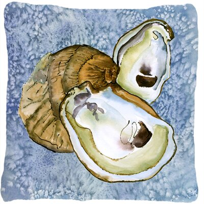 Oyster Indoor/Outdoor Throw Pillow
