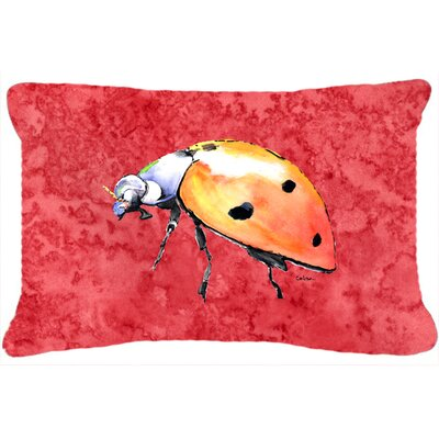 Lady Bug Indoor/Outdoor Throw Pillow