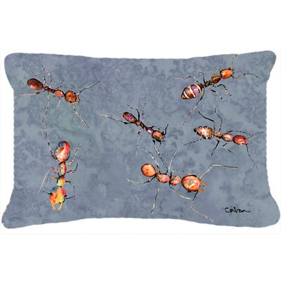 Ants Indoor/Outdoor Throw Pillow