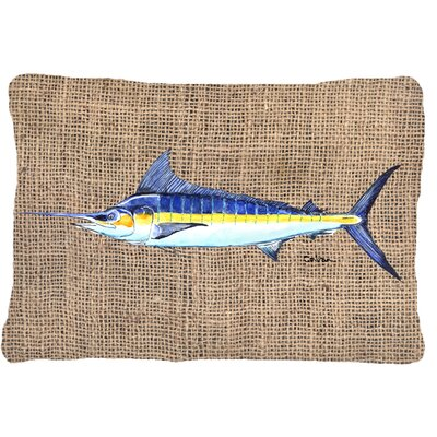 Marlin Indoor/Outdoor Throw Pillow
