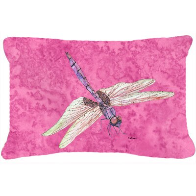 Dragonfly Rectangular Indoor/Outdoor Throw Pillow