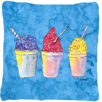 Snowballs Square Indoor/Outdoor Throw Pillow
