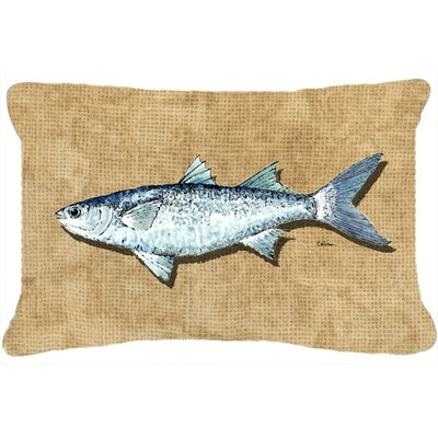 Mullet Indoor/Outdoor Throw Pillow