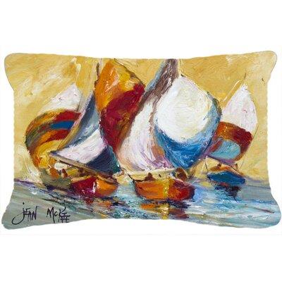 Boat Race Indoor/Outdoor Throw Pillow