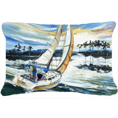Sailboats on Lake Martin Indoor/Outdoor Throw Pillow