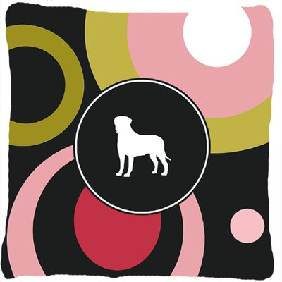 Bullmastiff Indoor/Outdoor Square Throw Pillow