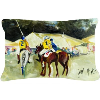 Polo at The Point Indoor/Outdoor Throw Pillow