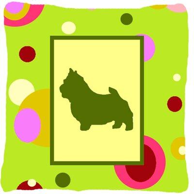 Norwich Terrier Indoor/Outdoor Throw Pillow