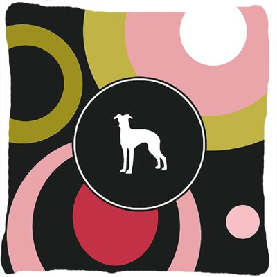 Italian Greyhound Indoor/Outdoor Throw Pillow