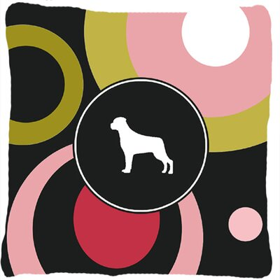 Rottweiler Indoor/Outdoor Square Throw Pillow