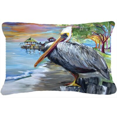 Pelican View Indoor/Outdoor Throw Pillow