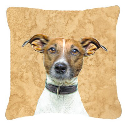 Yorkie/ Yorkshire Terrier Indoor/Outdoor Throw Pillow Size: 14 H x 14 W x 4 D
