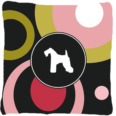 Kerry Blue Terrier Indoor/Outdoor Throw Pillow