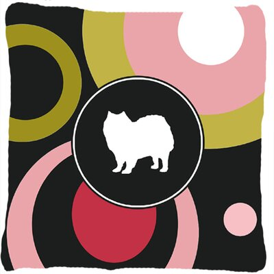 American Eskimo Indoor/Outdoor Throw Pillow