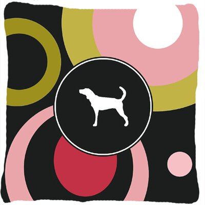 Plott Hound Indoor/Outdoor Throw Pillow