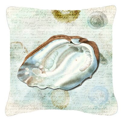 Shells Indoor/Outdoor Throw Pillow Size: 14 H x 14 W x 4 D