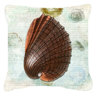 Balderston Brown/Green Indoor/Outdoor Throw Pillow Size: 14 H x 14 W x 4 D