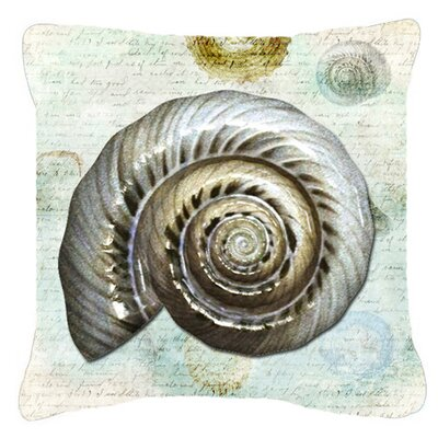 Balderston Green/Gray Indoor/Outdoor Throw Pillow Size: 14 H x 14 W x 4 D