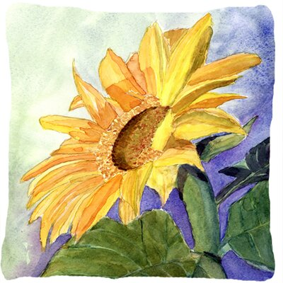 Landon Square Sunflower Indoor/Outdoor Throw Pillow
