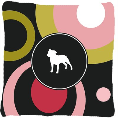 Staffie Indoor/Outdoor Throw Pillow