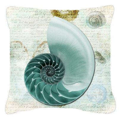 Shells Indoor/Outdoor Throw Pillow Size: 18 H x 18 W x 5.5 D