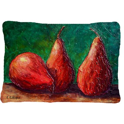 Donohoe Pears Indoor/Outdoor Throw Pillow