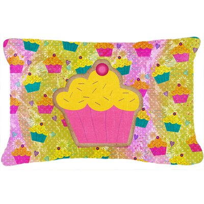 Cupcake Indoor/Outdoor Throw Pillow