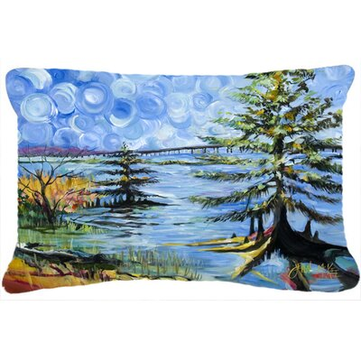 Life on The Causeway Indoor/Outdoor Throw Pillow