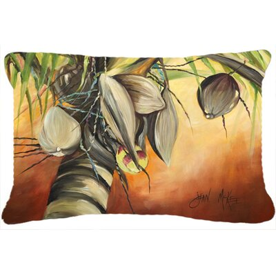 Miconia Coconut Tree Indoor/Outdoor Throw Pillow