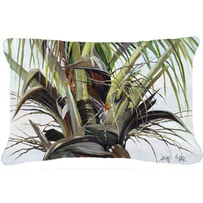 Top Palm Tree Indoor/Outdoor Throw Pillow