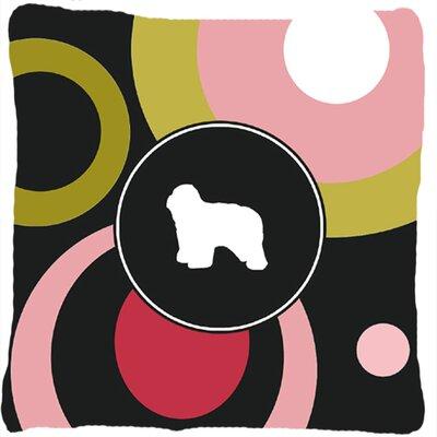 Polish Lowland Sheepdog Indoor/Outdoor Throw Pillow