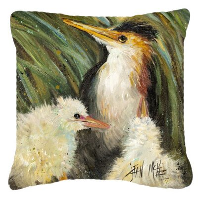 Indoor/Outdoor Throw Pillow Size: 14 H x 14 W x 4 D
