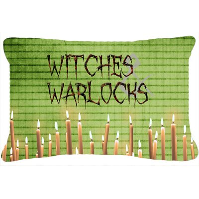 Witches and Warlocks Halloween Indoor/Outdoor Throw Pillow