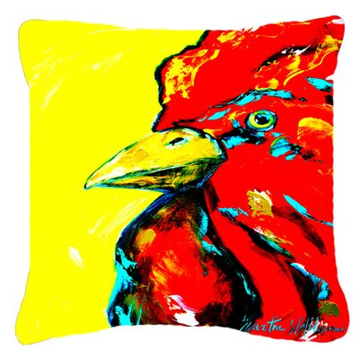 Big Head Indoor/Outdoor Throw Pillow Size: 14 H x 14 W x 4 D