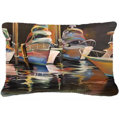 Sea Chase Deep Sea Fishing Boats Indoor/Outdoor Throw Pillow