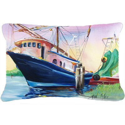 Shrimper Southern Star Indoor/Outdoor Throw Pillow