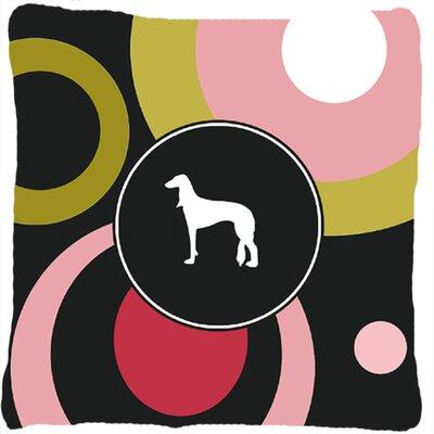 Saluki Indoor/Outdoor Throw Pillow