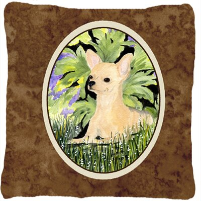 Chihuahua Graphic Print Indoor/Outdoor Throw Pillow