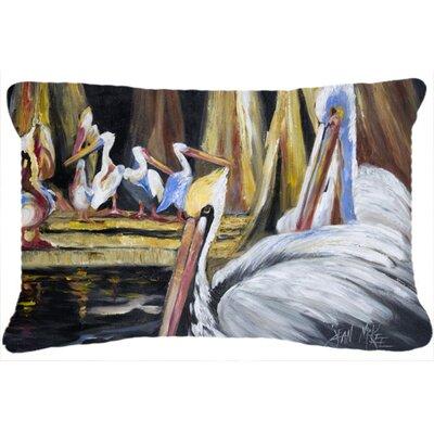 Pelicans Indoor/Outdoor Throw Pillow
