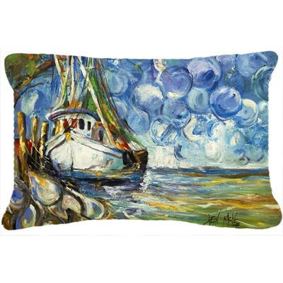 Shrimp Boat 101 Indoor/Outdoor Throw Pillow