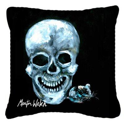 Ekk A Meece Indoor/Outdoor Throw Pillow Size: 18 H x 18 W x 5.5 D