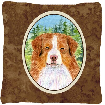 Australian Shepherd Modern Square Indoor/Outdoor Throw Pillow