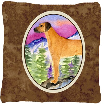 Rhodesian Ridgeback Indoor/Outdoor Throw Pillow