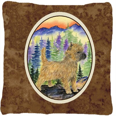 Cairn Terrier Indoor/Outdoor Throw Pillow
