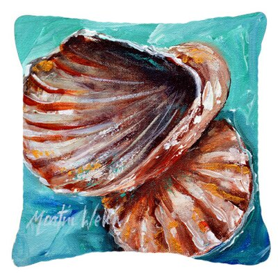 Balderston Not in A Row Indoor/Outdoor Throw Pillow Size: 14 H x 14 W x 4 D