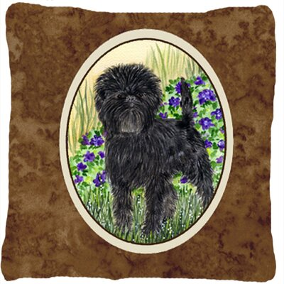 Affenpinscher Indoor/Outdoor Throw Pillow