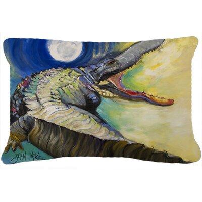 Alligator Rectangular Indoor/Outdoor Throw Pillow