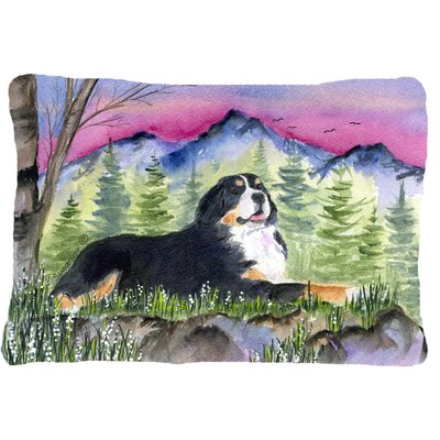 Modern Dog Rectangular Indoor/Outdoor Throw Pillow